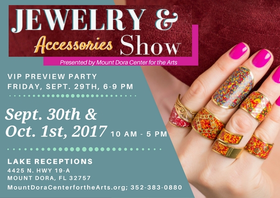 Zapp event information jewelry and accessories show for Mount dora craft fair 2017