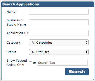 Photo of Search Applications box
